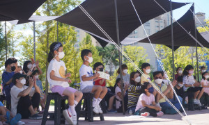 [제23회 춘천연극제] <춘천이웃는다> 거리공연 9월 18일 우두공원 버블쇼<시간여행자>
